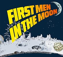First Men In The Moon by ixrid