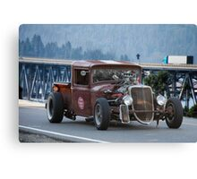 1933 Ford Pickup RIP 'Rust in Peace' Canvas Print