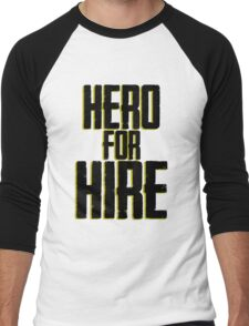 Hero For Hire - Luke Cage Men's Baseball ¾ T-Shirt