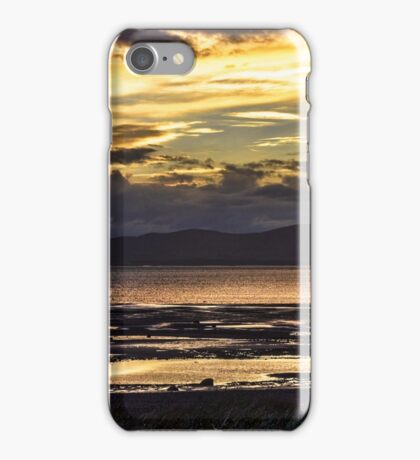 Evening Light Over The Solway Firth iPhone Case/Skin