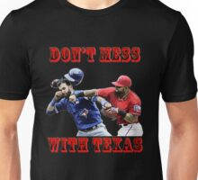 Don't Mess With Texas Black Unisex T-Shirt