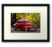 1940 Chevrolet Business Coupe Framed Print