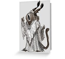 Helga the Howler Greeting Card