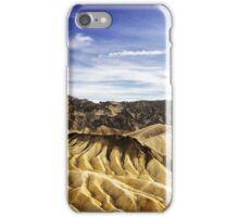 Death Valley Zabriskie Point iPhone Case/Skin