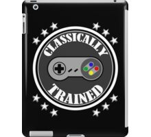 CLASSICALLY TRAINED RETRO 4 BUTTON VIDEO GAME CONTROLLER iPad Case/Skin