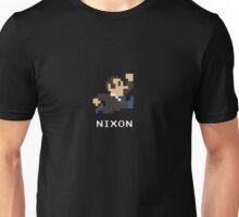 Richard Nixon in 8-Bits Unisex T-Shirt
