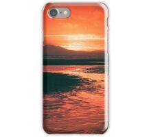 Harlech Beach Sunset (Autumn Edit) iPhone Case/Skin