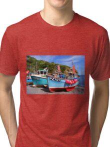Fishing Boats Tri-blend T-Shirt