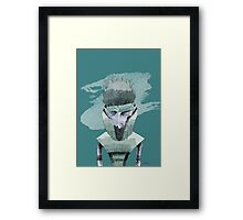 Carrier Boy Framed Print