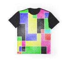 Colour Pieces Graphic T-Shirt