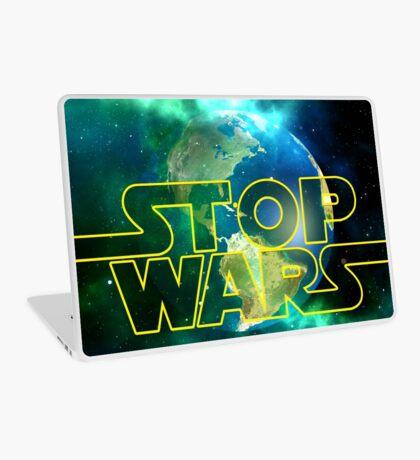 Stop Wars Laptop Skin