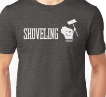 Shoveling Wis-Kid Unisex T-Shirt