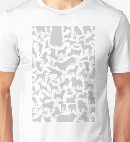 Dog a background Unisex T-Shirt