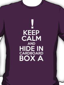 Keep Calm and Cardboard Box T-Shirt