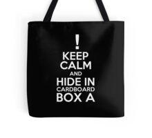 Keep Calm and Cardboard Box Tote Bag