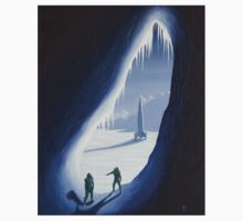 Exploring the ice cave Baby Tee