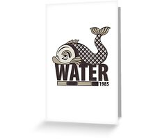 Fishwater Greeting Card