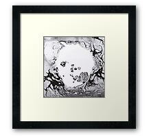 A Moon Shaped Pool Framed Print