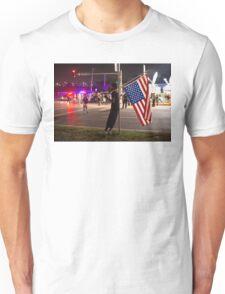 Distress in Ferguson Unisex T-Shirt