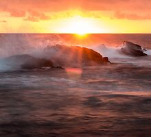 Reef Sunset by ashercobb