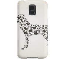 Dog a bird Samsung Galaxy Case/Skin