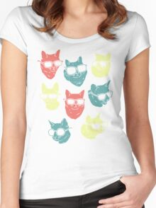 Cat Shirt Women's Fitted Scoop T-Shirt