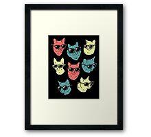 Cat Shirt Framed Print