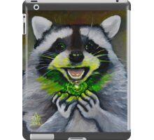 Kiki; the Curious Dumpster Panda Finds a Firefly iPad Case/Skin