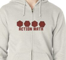 Action Math Zipped Hoodie