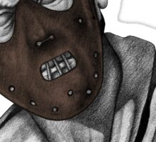 Hannibal Lecter - Statue Sticker