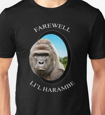 Farewell Li'l Harambe Unisex T-Shirt