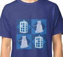 Doctor Who - Tardis Dalek Classic T-Shirt
