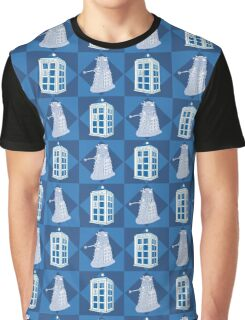 Doctor Who - Tardis Dalek Graphic T-Shirt