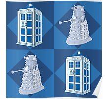 Doctor Who - Tardis Dalek Poster