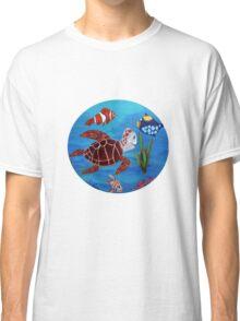 Swimming the sea Classic T-Shirt