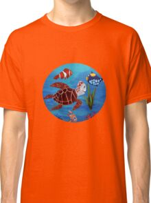 Swimming the sea Classic T-Shirt