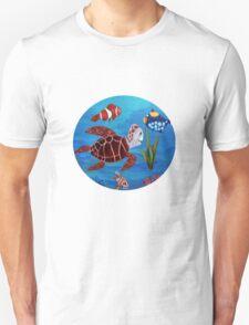 Swimming the sea T-Shirt