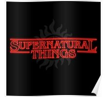 Supernatural Things Poster