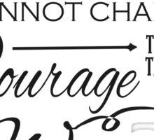 Serenity Prayer - Chalk Typography Sticker