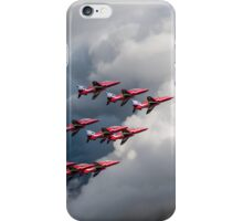 Cloud riders: the Red Arrows iPhone Case/Skin