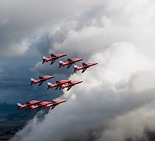Cloud riders: the Red Arrows by Gary Eason + Flight Artworks