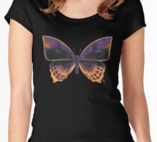 Nymphalidae Alurgis, New Guinea (apparel) Women's Fitted Scoop T-Shirt