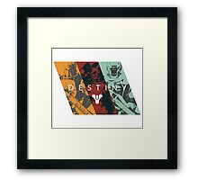 Destiny - Classes by AronGilli Framed Print