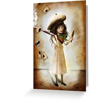 Little Sharpshooter Greeting Card
