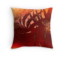 Heat 2 Throw Pillow