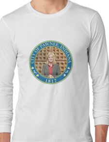 Parks and Rec Pawnee Seal Long Sleeve T-Shirt