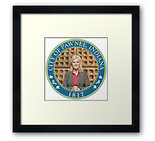 Parks and Rec Pawnee Seal Framed Print