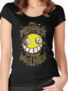 Perfect Day for Mayhem Women's Fitted Scoop T-Shirt