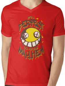 Perfect Day for Mayhem Mens V-Neck T-Shirt