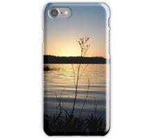 Sunset at Elk Lake  iPhone Case/Skin